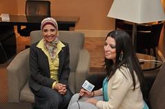 Hanan Turk Speaks to ART America About Islamic Relief's Work