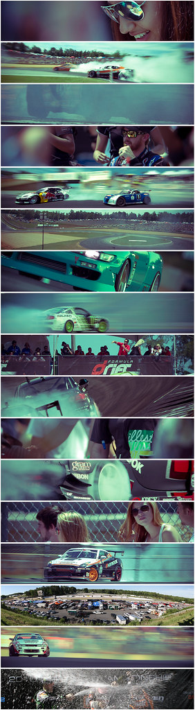 Formula Drift ATL Collage