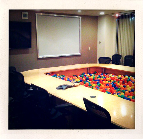 265/365: Ball Pit Conference Room