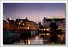 Copenhagen - Queen Louise's Bridge (UrbanMescalero) Tags: city bridge copenhagen denmark dusk bluehour bro nørrebro danmark københavn dronninglouisesbro abigfave queenlouisebridge canoneos5dmarkii ef24105lf4isusm