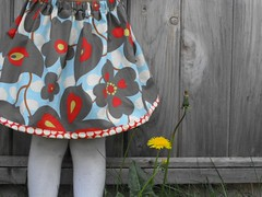 New skirt for my girl (Haley By Hand) Tags: summer girl kids amy skirt fresh dandelion clothes butler