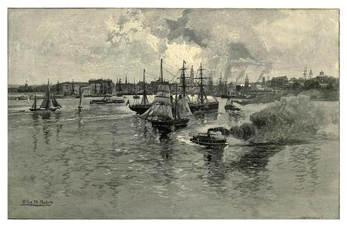 003-Circular Quay-Puerto de Sydney-Australasia illustrated (1892)- Andrew Garran