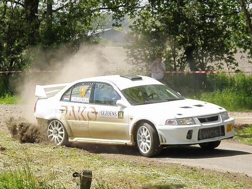 Mitsubishi Evo 6 Rally. 14 Mitsubishi EVO 6 A8 - Hein