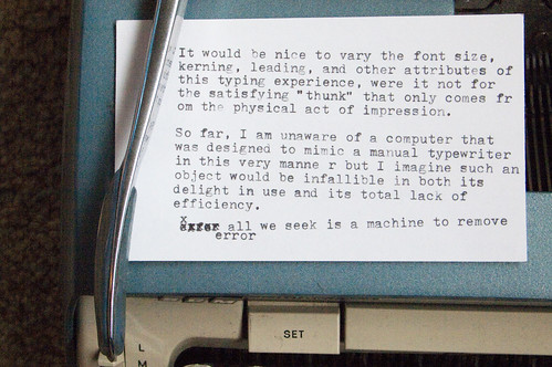 Manual Typewriter Tweets 04