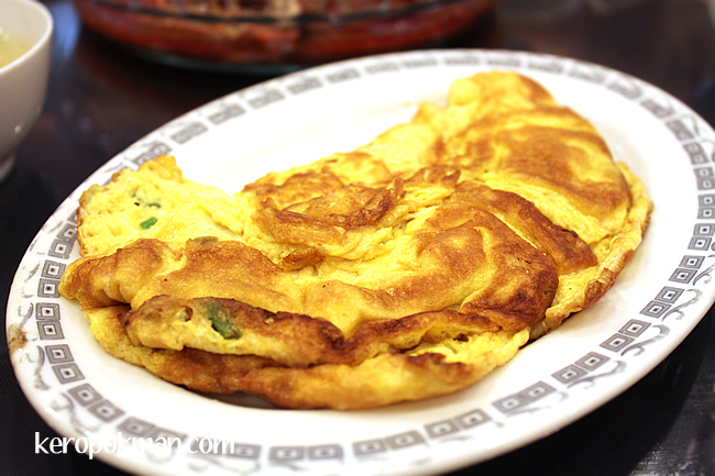 Omelette with Chincalok