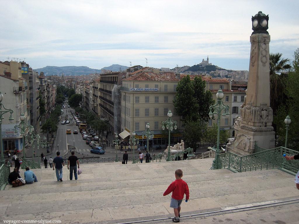 Escalier Monumental du Boulevard d'Athènes