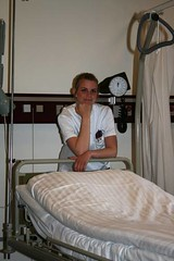 Nurse (NurseSXY) Tags: hospital copenhagen denmark nice bed uniform nurse kbenhavn