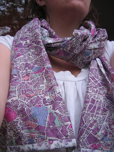 A spring scarf