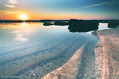 Calm Sunrise (-yury-) Tags: ocean blue sea sun seascape beach water sunrise landscape rocks sydney australia calm coastal coas