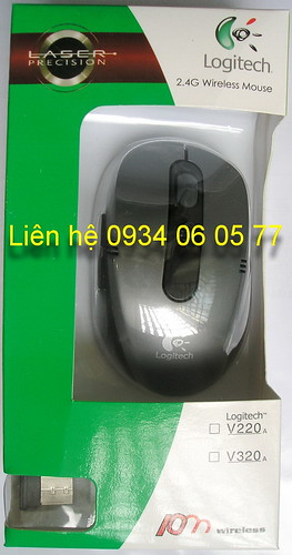 Mouse Logitech Wireless 2.4GHz xam - 215.000d
