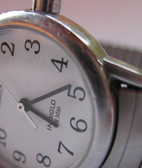 Time is free, but it's priceless. You can't own it, but you can use it. You can't keep it, but you can spend it. Once you've lost it you can never get it back. (katerha) Tags: time watch timex dailyshoot ds194