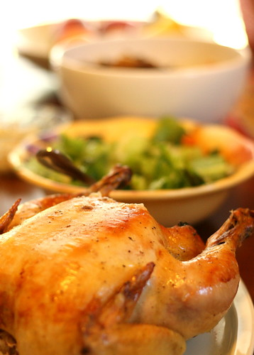 Lemon-Rosemary Roasted Chicken With Crispy Potatoes Recipe ...