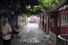 CUBA-IV-V-10-Paredes-0202 (Tai Pan of HK) Tags: sculpture streetart muro wall emblem logo pared graffiti mural symbol grafiti havana cuba relief escultura azulejo slogan havanna lahabana vedado emblema republicofcuba eslogan ciudaddelahabana callejndehamel repblicadecuba sancristbaldelahabana salvadorgonzlesescalona