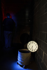 Time in the corner (RSII Photography) Tags: light abandoned clock bucket ecc rsii