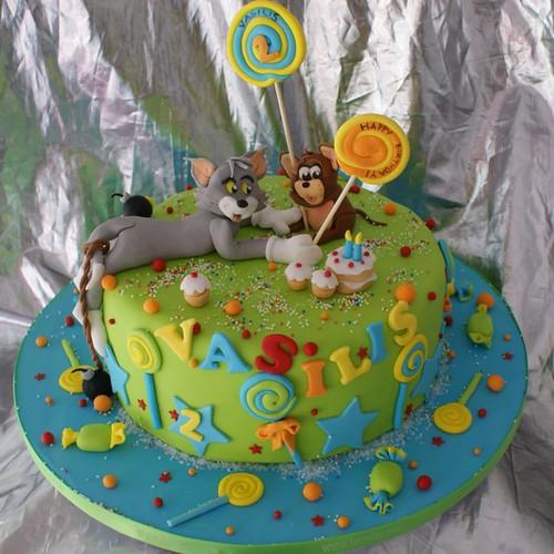 cake for Vasilis