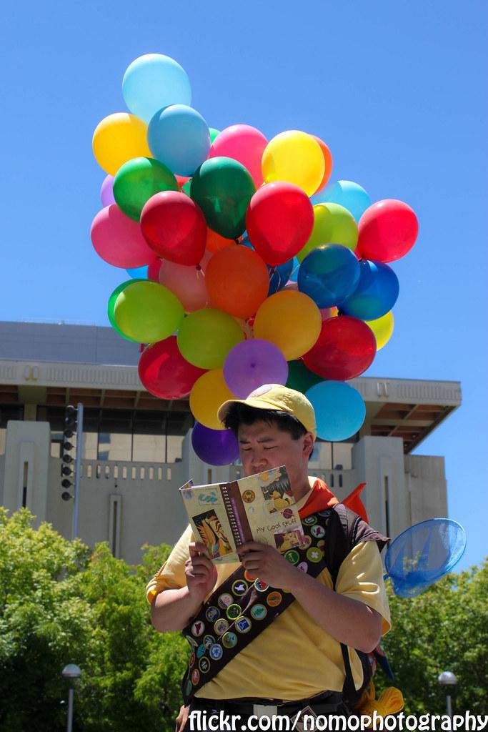 Russell Nomo Photography Tags Up Balloons Balloon Sanjose Disney Pixar Fanime Fanimecon