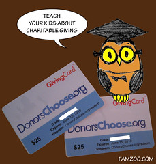 Donors Choose Giving Cards