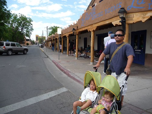 old town street corner.