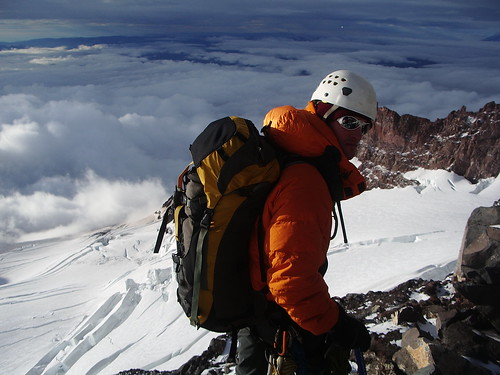 Guiding on Rainier