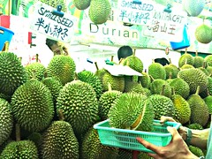 Red Prawn Durian, King of Kings Durian, Chinatown