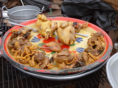 roadside fried chicken, Burkina  Faso