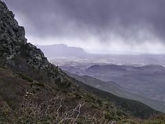 Flatiron from Brown's Peak Saddle - Four Peaks Wilderness.