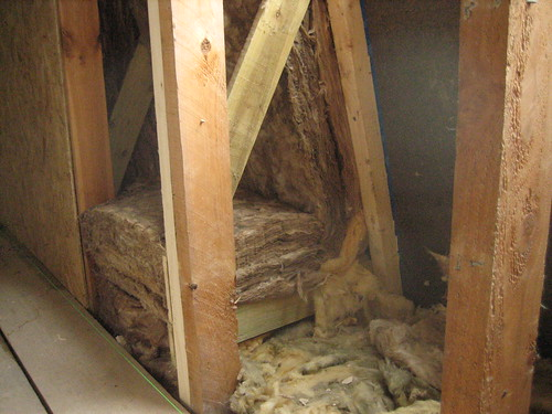 insulation in wall