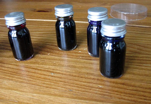 J. Herbin scented ink samples