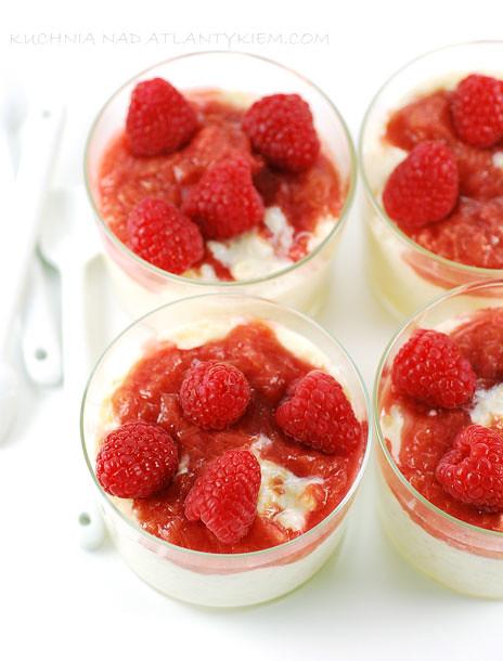 Rasberie & Rhubarb Rice Pudding