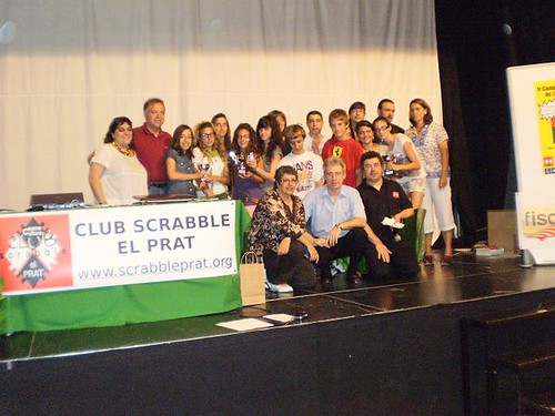 Les sis primeres parelles  por Club Scrabble el Prat.