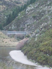 Bridge (a-dinosaur) Tags: new bridge railway zealand dunedin gorge the taieri