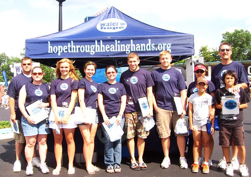 Cinci Water = Hope volunteer crew!