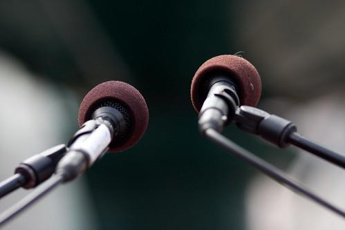 Microphones by Håkan Dahlström, on Flickr