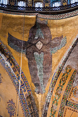 Seraph (Viajante) Tags: detail art church architecture angel turkey religion istanbul christian christianity byzantine hagiasofia tr seraph ayasofya