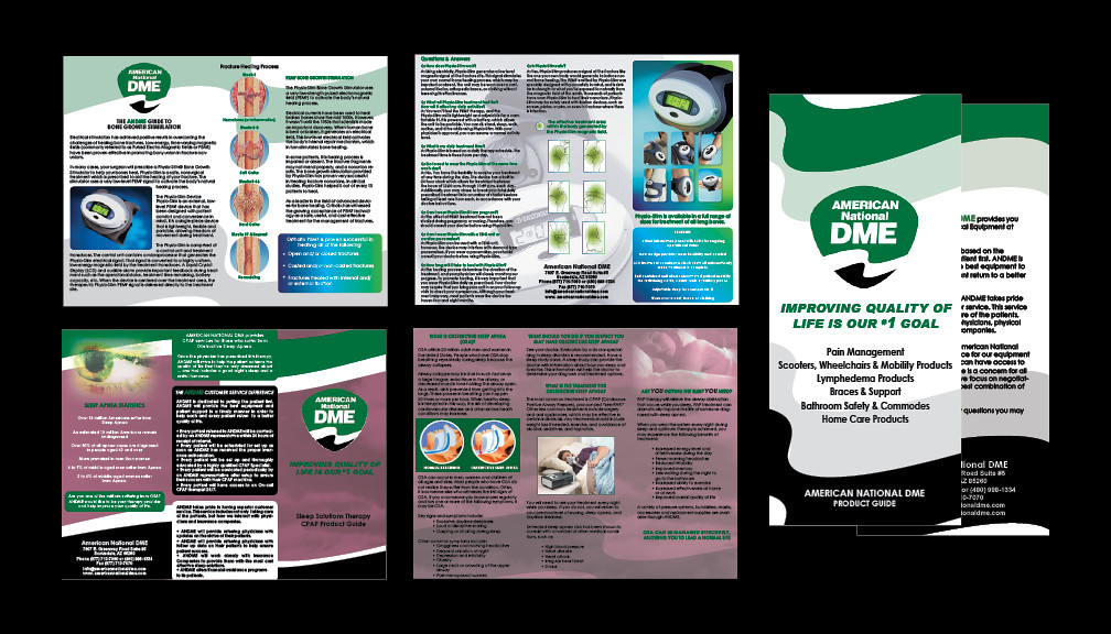 Marketing Collateral American National DME