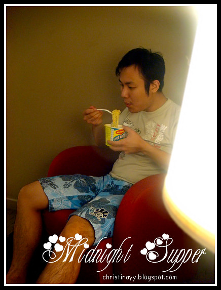Mercure Hotel: Midnight Supper