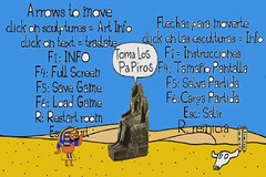 Ancient Egypt / Antiguo Egipto VideoGame (Parodias de Pinturas Famosas) Tags: art egypt parody egipto piramides luxor giza ancientegypt videojuegos parodies antiguedad munguia valledelosmuertos