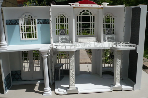 HSM Dollhouse WIP Full View