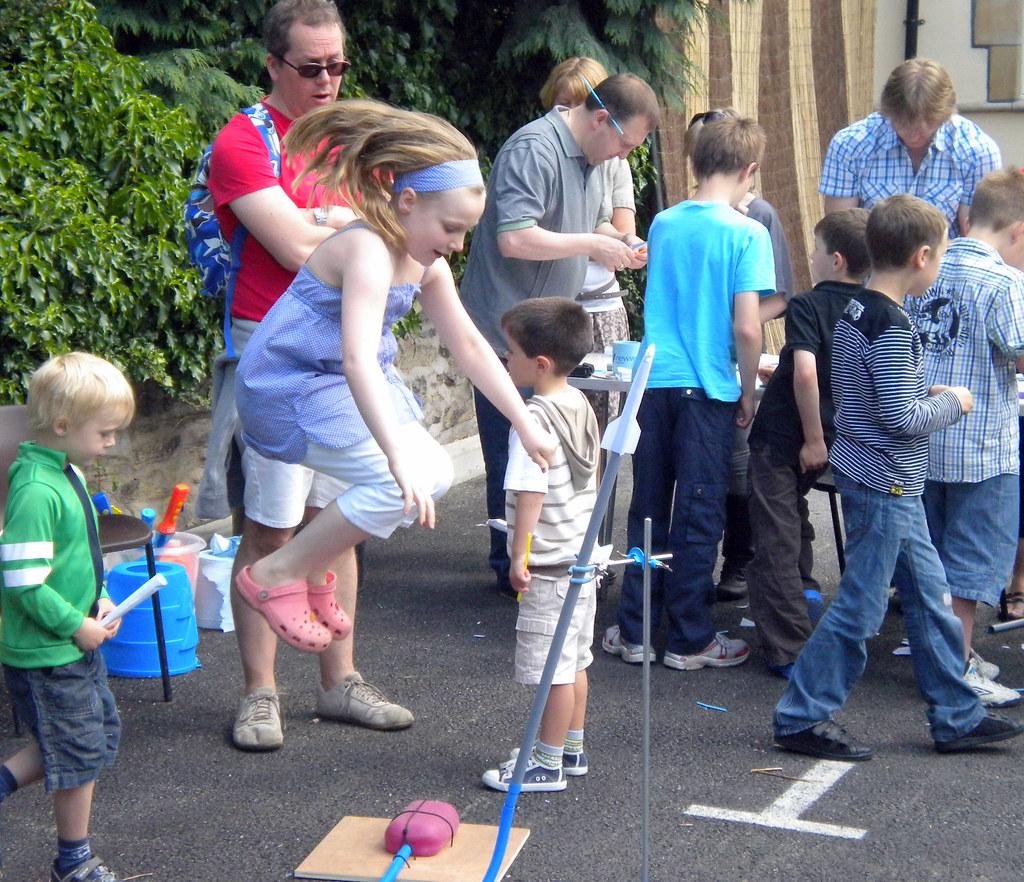 'Stomp rocket' launch
