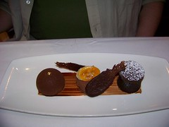 Chocolate Assortment / Yachtman's Steakhouse