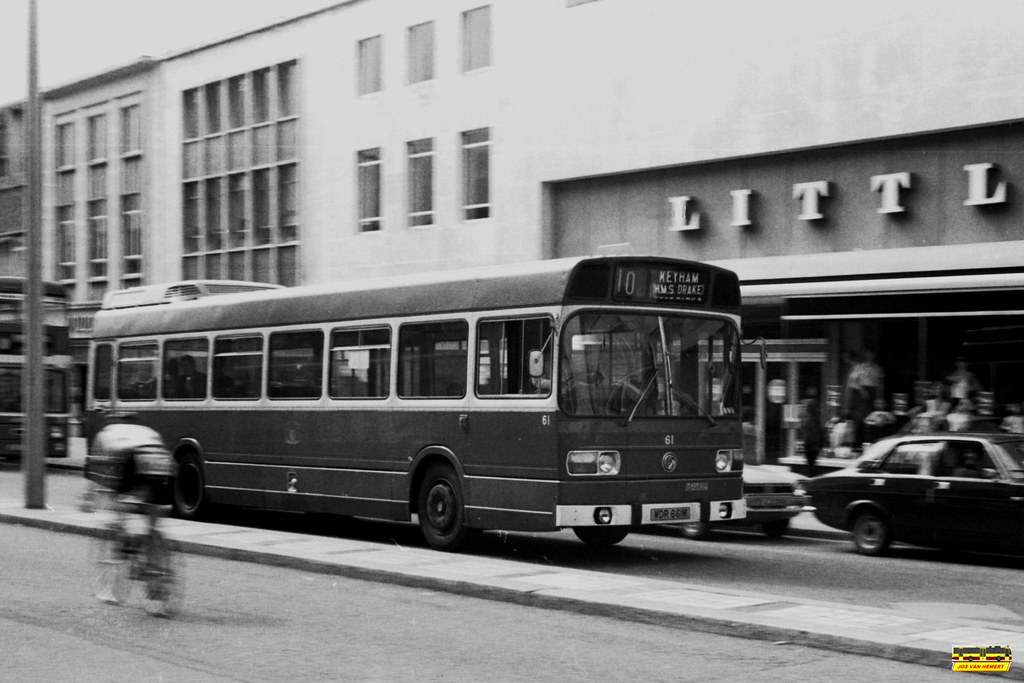 PCT Leyland National 61 - Ply., New George St - 07-1980