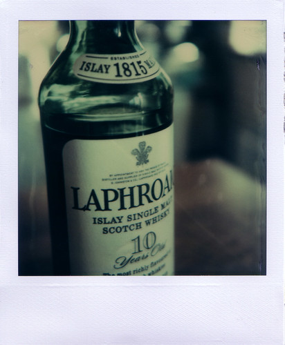 A bottle of whisky