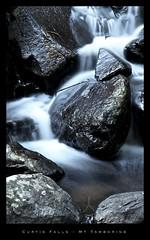 Curtis Falls - Rocks (Vanessa Mylett) Tags: mist wet water landscape gold coast waterfall rainforest rocks australia best queensland tamborine hinterland curtisfalls borderfx 18x200mm canon550d