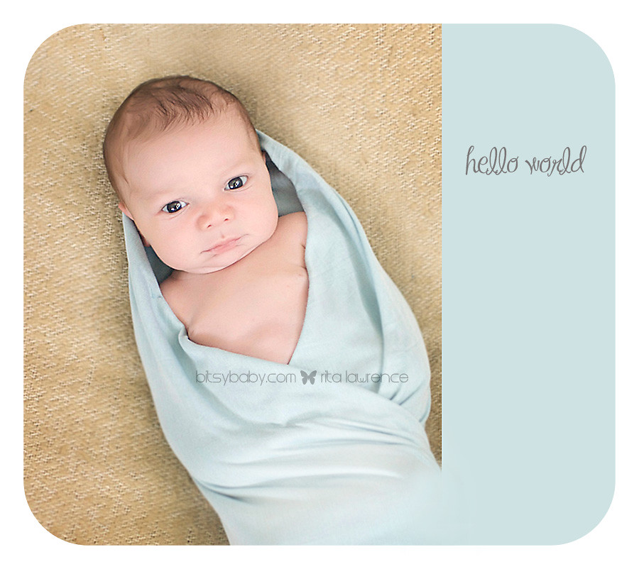 Hello World {Annapolis Newborn Photographer}