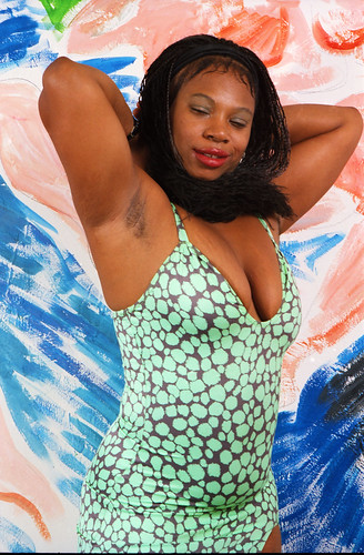 African Girls Showing Armpits