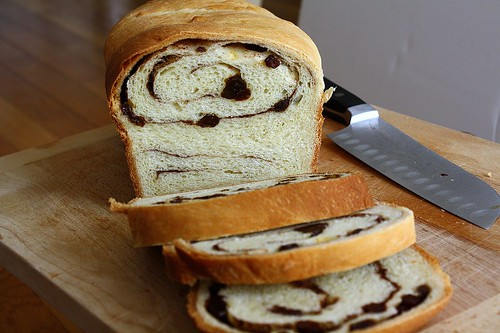 TWD Raisin Bread