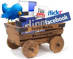ソーシャルネットワークのバンドワゴン