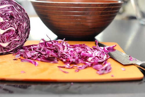 asian slaw with mango