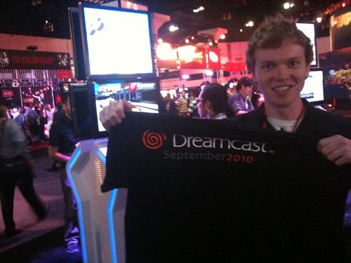 dreamcast shirt