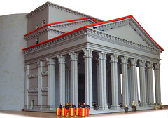 Pantheon, Rome (peggyjdb) Tags: rome monument architecture temple ancient lego roman pantheon